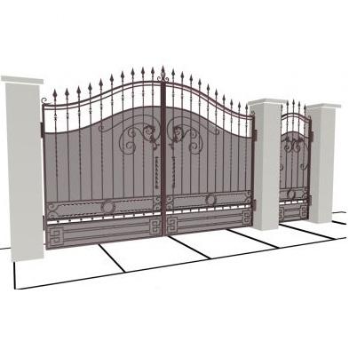 Проектировать ворота и калитку брами ворота цена в украине